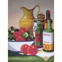 Gobelin 24x18 cm 107 150 La cuisine
