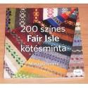 200 színes Fair Isle kötésminta