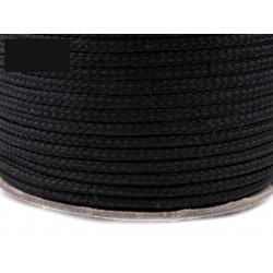Zsinór 0,4 cm fekete
