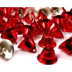 Csengettyű 1,2x2 cm piros