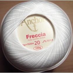 Anchor Freccia fehér 20-as 100 g