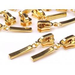 Cipzárkocsi 5 mm arany