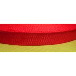 Danubia szalag 1,3 cm piros