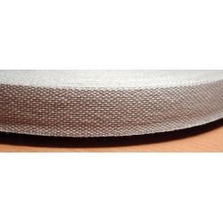 Danubia szalag 1,3 cm szürke
