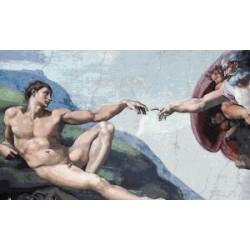 Gobelin 25x40 cm Sz:606 T Michelangelo: Teremtés /részlet/