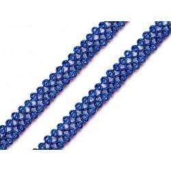 Bortni 0,9 cm széles kék