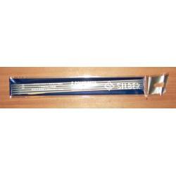 Zoknikötő/kesztyűkötő 3 mm Silber