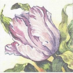 Gobelin 10x10 cm 193 T Tulipán