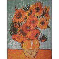 Gobelin 22x30 cm 011 Van Gogh -Napraforgók