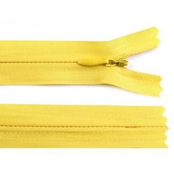 Cipzár 20 cm rejtett sárga