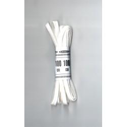 Cipőfűző 100 cm lapos fehér