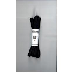 Cipőfűző 100 cm lapos fekete