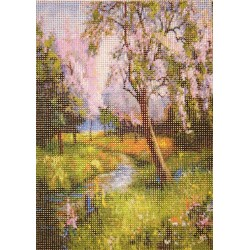 Gobelin 10x15 cm T026 T Erdei tavasz