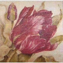 Gobelin 10x10 cm V037 T Tulipán