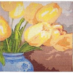 Gobelin 10x10 cm V045 T Tulipán
