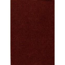 Filc 0,9 mm 20x30 cm barna