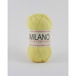 Milano Cotton Sport sárga 100 g