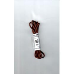 Cipőfűző gömbölyű 60 cm barna