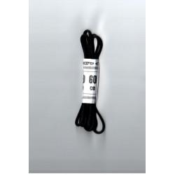 Cipőfűző gömbölyű 60 cm fekete