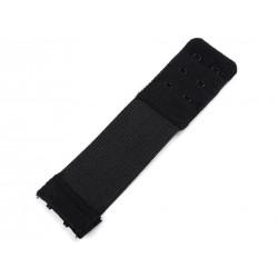 Melltartó kapocs hosszabító 3 cm fekete
