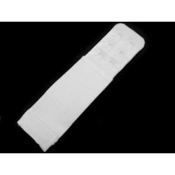 Melltartó kapocs hosszabító 3 cm fehér