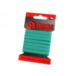 Gumi 0,7 cm zöld 5m/kártya