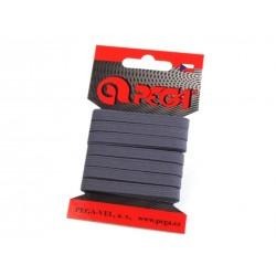 Gumi 0,7 cm sötétszürke 5m/kártya