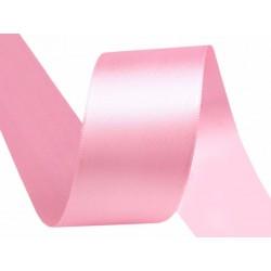 Szatén szalag 3,8 cm rózsaszín