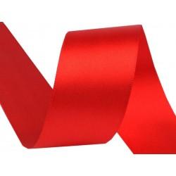 Szatén szalag 3,8 cm piros