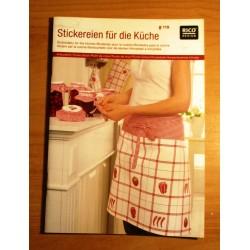 Keresztszemes mintaív Hímzések a konyhába