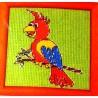Keresztszemes szett 12x12 cm 19702 papagáj