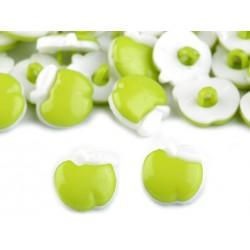 Babagomb 1,4 cm zöld alma