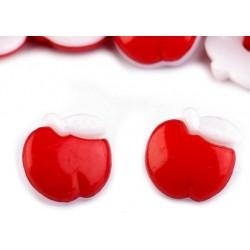Babagomb 1,4 cm piros alma