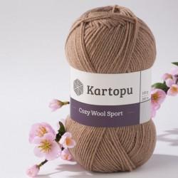 Cozy Wool Sport középbarna 100 g