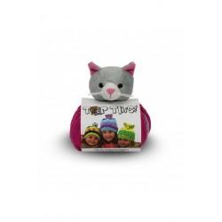 Top This sapkafonal 80 g szürke/pink cicás