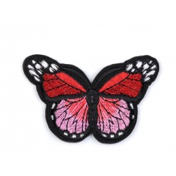 Vasalható folt piros pillangó