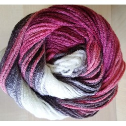 Burcum Batik szürke/pink 100 g