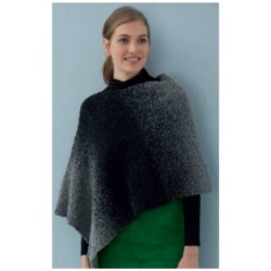 Ombre Dream poncho