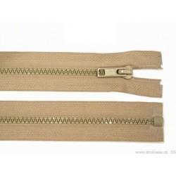 Cipzár 70 cm bontható bézs GT10