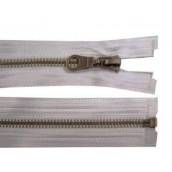 Cipzár 70 cm bontható fém világosszürke VT10