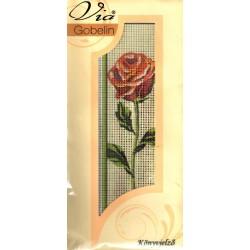 Gobelin szett 5,5x20 cm Rózsás könyvjelző Y2012
