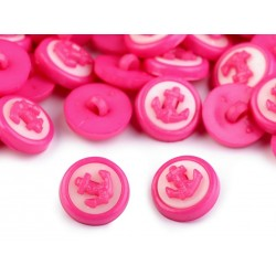 Babagomb 1,4 cm pink horgony