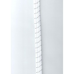 Csőgumi 15 mm fehér
