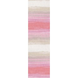 Diva Batik fehér/rózsa/drapp 100 g