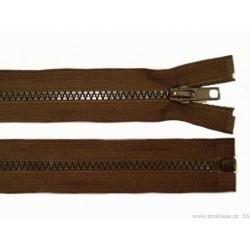 Cipzár 45 cm bontható barna GT10