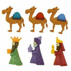 Dress It Up gombszett We Three Kings