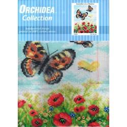 Gobelin 24x30 cm 2142H Pillangók