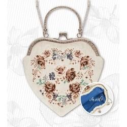 Hímezhető táska láncos táskanyitóval BAG021