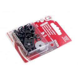 Ringli 0,5 cm fekete