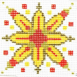 Gobelin 10x10 cm TK6 Csillag